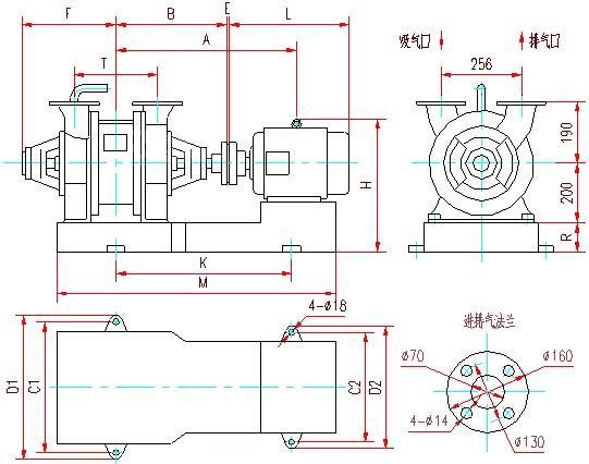 SZ水環真空泵安裝圖1