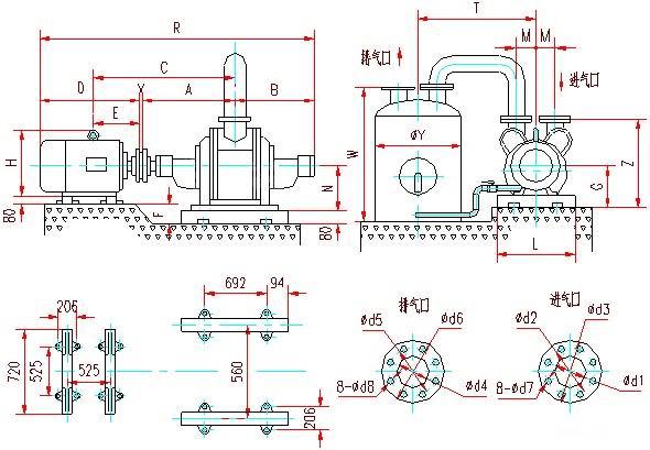 SZ水環真空泵安裝圖3